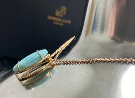 Larimar collier